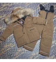зимний костюм Канада Гус цвет коричневый