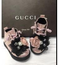 Ботинки детские демисезонные цвет розовый